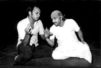 Production: Theatre Academy, Pune                                       Cast: Satish Alekar & Chandrakant Kale